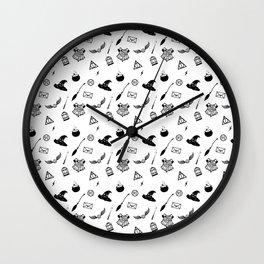 Potter Pattern Wall Clock