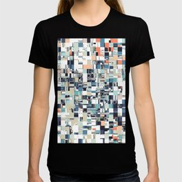 Abstract Jumbled Mosaic T-shirt