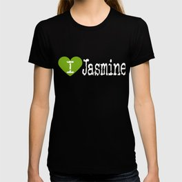 I Heart Jasmine | Love Jasmine - Flower T-shirt