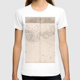 Johann Bayer - Uranometria / Measuring the Heavens (1661) - 40 Hydra T-shirt