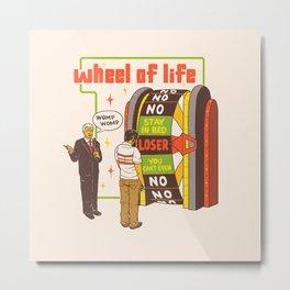 Wheel Of Life Metal Print