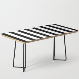 Stripes Pattern | B&W Coffee Table