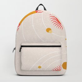 Sun space universe Backpack
