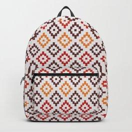 Vintage Texttile Patterns Backpack