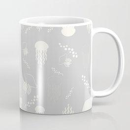 Jellyfish grey Coffee Mug