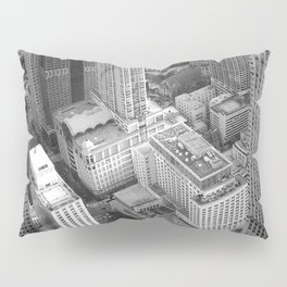 Chicago from above Pillow Sham