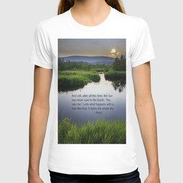 Rumi Sun Quote T-shirt
