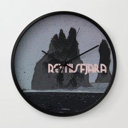 Reynisfjara - Iceland Wall Clock