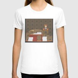 lost in kafka's process T-shirt