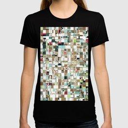 Geometric Textured Jumble T-shirt