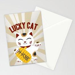MANEKI NEKO - LUCKY CAT Stationery Cards