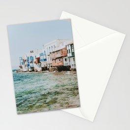 mykonos iv / greece Stationery Cards