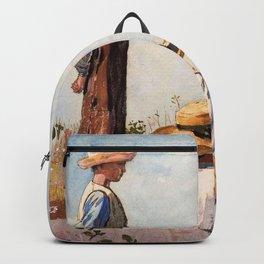 Winslow Homer1 - The Blue Boy - Digital Remastered Edition Backpack
