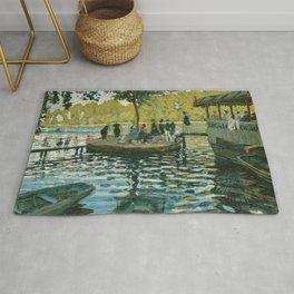 Claude Monet - La Grenouillère Rug
