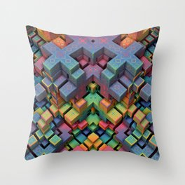 Mindcraft Throw Pillow