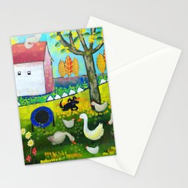 Auntie Ruth's house Stationery Cards