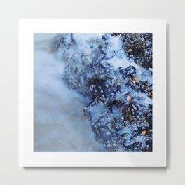 Waves, stones & shells 4 Metal Print