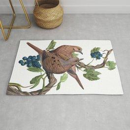 Mourning Doves Rug