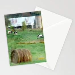 Barnyard Cows Stationery Cards