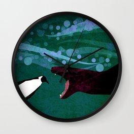 food chain 7 Wall Clock
