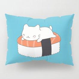 Kawaii Cute Sushi Cat Pillow Sham
