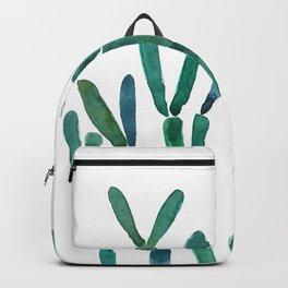 Succulent rhipsalis watercolor Backpack