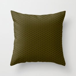 Circular speaker grille Throw Pillow