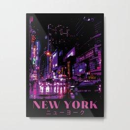 New York Aesthetic Metal Print