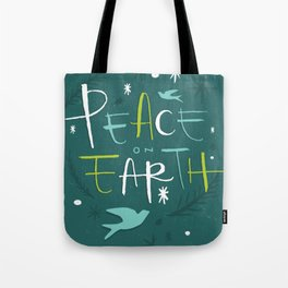 Peace on Earth Tote Bag