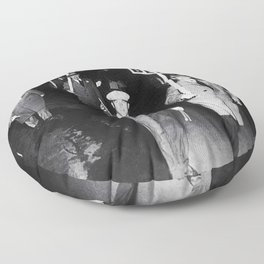 We Want Beer! Protesting Against Prohibition black and white photography - photographs Floor Pillow