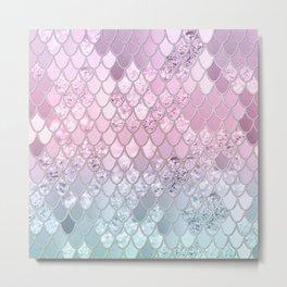 Mermaid Glitter Scales #2 #shiny #decor #art #society6 Metal Print