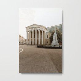 Public theater in Subotica, Serbia / Autumn / Fall Metal Print
