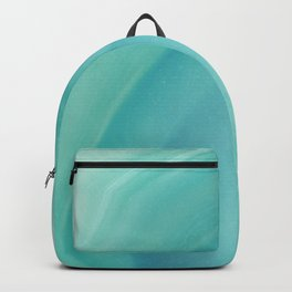 Geode Crystal Turquoise Backpack
