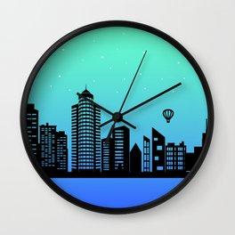 City Stars XI Wall Clock