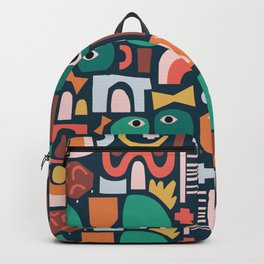Abstract Playground Backpack