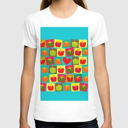 Apple and Heart T-shirt