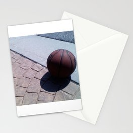 Basketball at Rest Stationery Cards