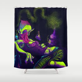 "The ""Young"" Alchemist Shower Curtain"