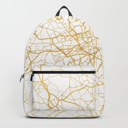 LONDON ENGLAND CITY STREET MAP ART Backpack