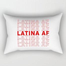 Latina AF Girl, Latin Pride Rectangular Pillow