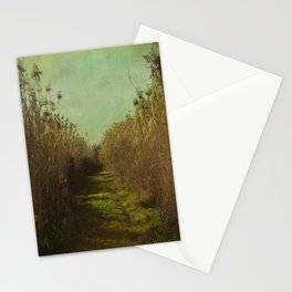 The path into the unknown Stationery Cards
