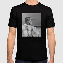 JFK Relaxing Outside T-shirt
