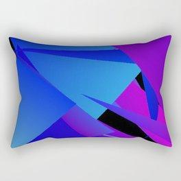 Rhapsody in Blue 1 Rectangular Pillow