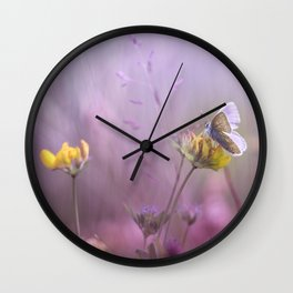It's only me.... and this little one... Wall Clock