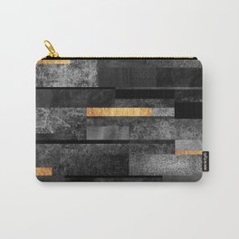Urban Black & Gold Carry-All Pouch