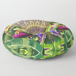 Red Eyed Tree Frog Floor Pillow