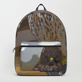 Chicken Hawk Starring Down At Me Backpack