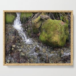 The Fae's waterfall Serving Tray