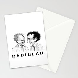 RadioLab with Robert and Jad Stationery Cards