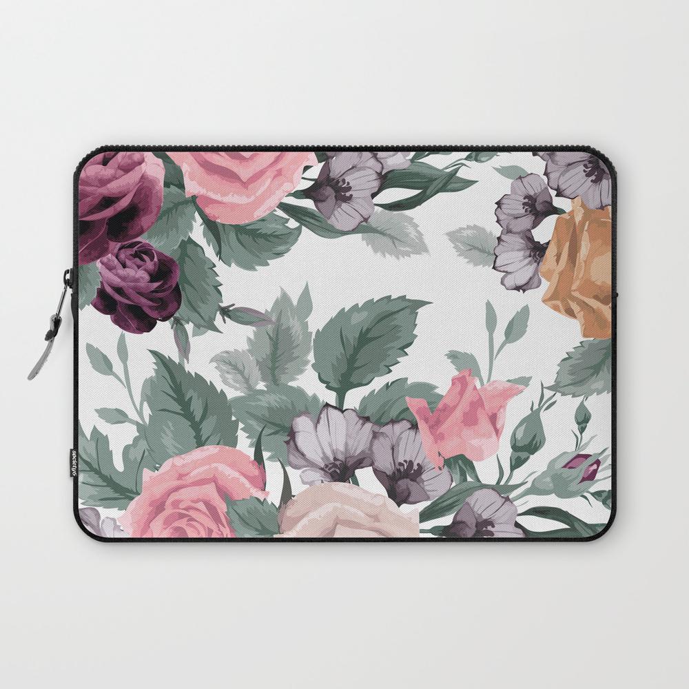 Flowers Viii Laptop Sleeve LSV7546094